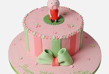 Peppa Pig Cakes by Panari