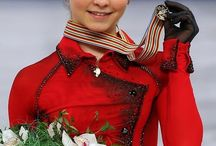 Юлия Липницкая / Yulia Vyacheslavovna Lipnitskaya is a Russian figure skater. Born 5 June 1998 / by Гергей Саймон