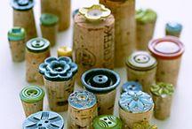 pečiatky z gombíkov