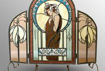 My work, stained glass.