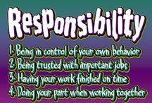 Responsible/Responsibility