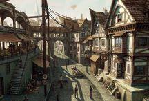 Fantasy Villages & Towns