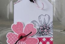 Gift Tags / Fun gift tag ideas for all types of gifts.  Carol Lovenstein www.pinkstampagne.com