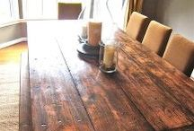 Kitchen Tables Oklahoma / Made Out Of Wood From Ranch Oklahoma. Western Chairs Needed.