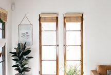 Livingroom in rustic style