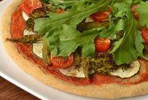 pizzas, quiches low carb