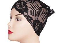 Lace Band Bonnets