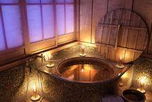 Dream Home: Bathroom / by Bethany Hart