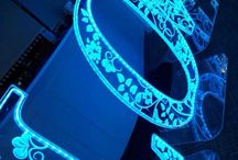 LOVE Letters / Here are our 4ft tall fully illuminated Love letters.