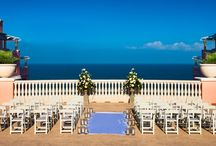Sky Terrace | Wedding / Our Sky Terrace set on the 16th Floor, offers panoramic views of the Gulf of Mexico and Intracoastal Waterway.  This setting is perfect for wedding ceremonies up to 225 guests and private receptions that can accommodate up to 150 guests.