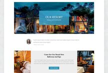 hotel web site inspiration