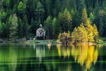 Champex-Lac, le petit Canada suisse