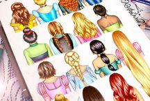 Disney princes desene