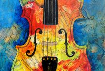 Musical instrument art