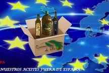 Envíos a Europa de aceite de oliva / Servicio de envío de aceite de oliva virgen extra a más de 25 países de Europa