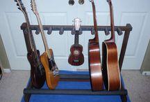 Base para las guitarras