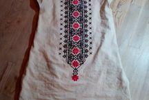 Slafka Kascakova / Linen embroidery folk