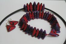 beading with triangles