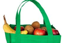 Reusable Bags For A Healthy Lifestyle / Whether it is bringing fresh produce home from the farmers market or your workout clothes to the gym, reusable bags can play an instrumental role in maintaining a healthy, active lifestyle.