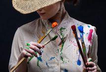 Being an artiste !