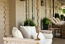 Outside deck furniture
