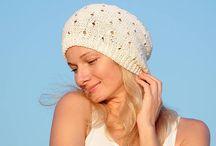Openwork women's hats