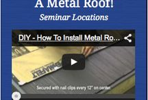 DIY Metal Roofing Shingle Installation / Do-It-Yourself Metal Roofing for your home!