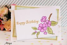 My handmade Cards / handmade Cards, Stamping,