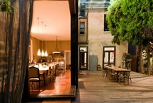 outside spaces / Even when I'm outside - I like the luxury and comfort of beautiful interiors. / by khryss