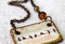 Cerâmica bijuteria