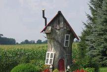 Tree Stumps / Gnome houses
