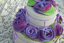 cloth diaper cakes / by Melissa Myers