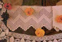 Crochet edges/Hekel randjies