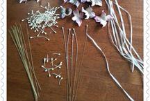 Flori textile, procedura