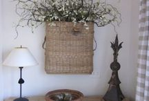 Decor: BASKET beauty / by Donna - Funky Junk Interiors