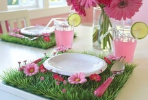 tea party decor / by Missy Sanders