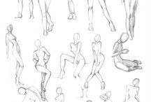 fem poses