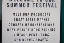 Signage | Daylesford Organic Farm Summer Festival / Like what you see? Talk to us about your next brand activation project today. www.octink.com.