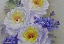 fleurs et portraits vitaing