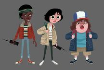 va.drawing.characters.stranger things