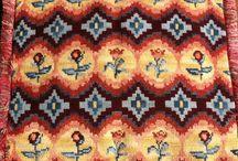 composse / esterillas diseñadas y lanas para bordar y tejer