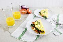 Breakfast - Eggs.