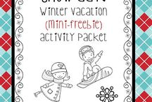 Winter / Snowmen, Snowflakes, Winter, and Winter Olympics / by Kathy Englund-Rasmussen