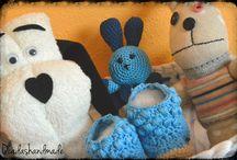 Cesta bebe regalo / Ideas para regalar a recién nacido. http://qcadashandmade.blogspot.com.es/