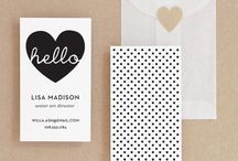 Business Cards and Labels