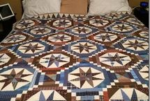 Brown/Grey Country Quilt