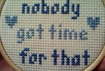 Needlework / Needlework