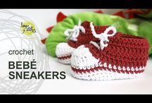 Zapatos bebé ganchiyo