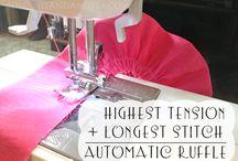 Sewing machine tricks