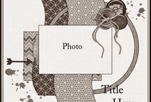 Page Maps for Scrapbooking